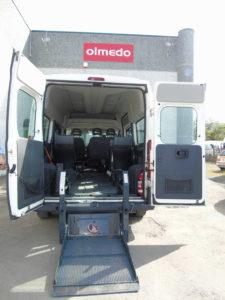 fiat ducato trasporto disabili catania
