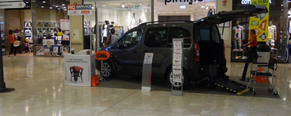 auto per disabili olmedo porte di catania