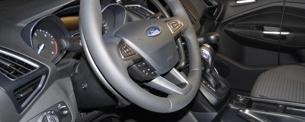 ausili di guida acceleratore al volante e leva freno